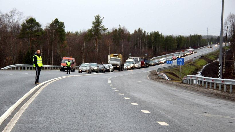 В Поморье запустили движение по отремонтированной трассе из Архангельска в Котлас