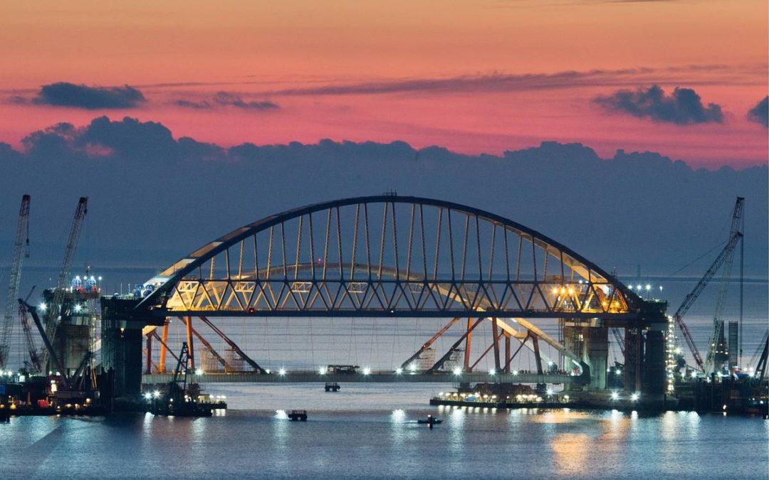 Восемь миллионов автомобилей проехали по Крымскому мосту почти за полтора года работы