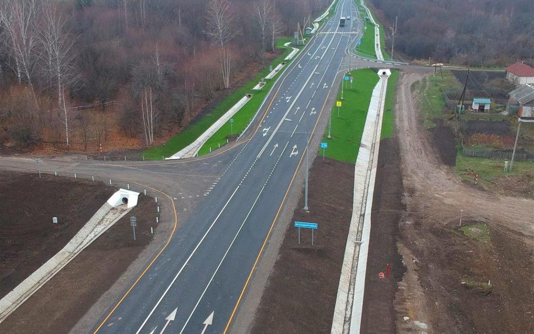 В Липецкой области отремонтировали более 20 км федеральных трасс