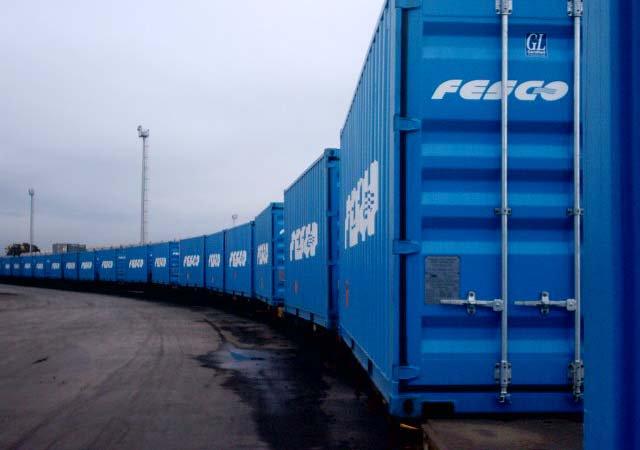 Новый контейнерный поезд Петербург – Новосибирск