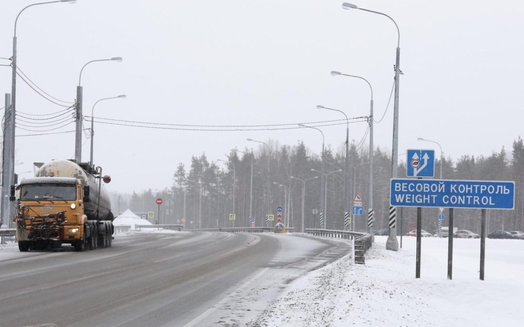 До конца года на региональных дорогах Ленинградской области установят три первые «рамки» весогабаритного контроля