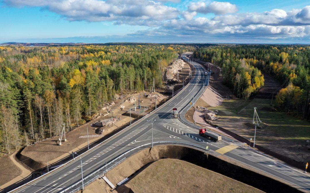 В четырех регионах Северо-Запада в нормативное состояние привели свыше 300 км федеральных трасс