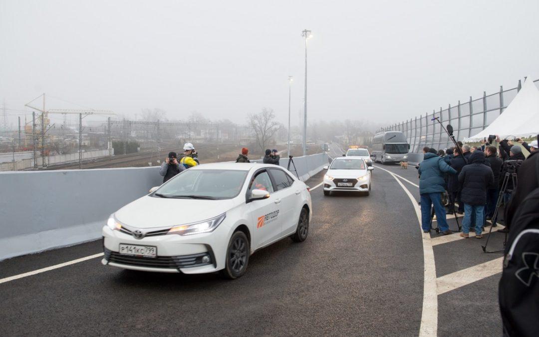 На трассе М-1 «Беларусь» открыто движение по «Внуковской развязке»