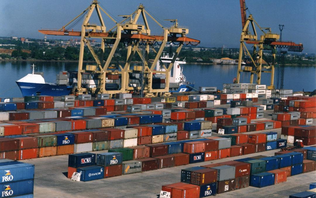 Грузооборот российских портов в декабре вырос на 5,1%