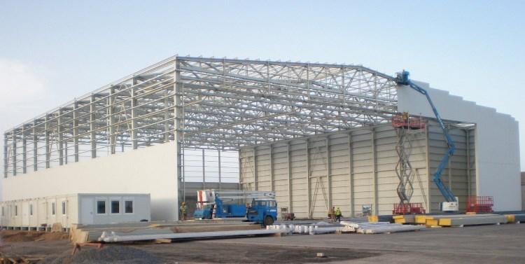В Санкт-Петербурге начали строить более просторные склады